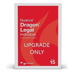 Nuance SN-A590A-RD1-15.0 Dragon Legal Individual Version 15 Upgrade from Dragon Professional Individual 15 – Upgrade Only Electronic Download