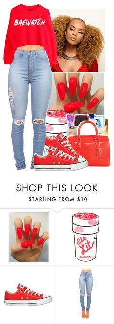 """Tinashe~Super Love"" by jasmine1164 ❤ liked on Polyvore featuring Converse"
