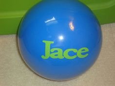 Childrens beach ball by aMAZEingSigns on Etsy, $8.00