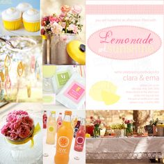 A lemonade and Sunshine Party