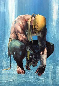 Iron Fist #1 Variant - Gabriele Dell'Otto