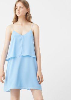 Double layer dress | MANGO