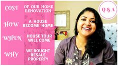 Q & A Part-2 Home Renovation, House Tours, Digital Marketing, Budgeting, Blog, How To Plan, Organization Ideas, Community, Kit