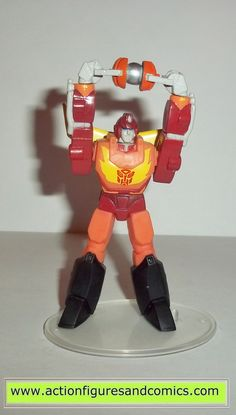 Transformers pvc RODIMUS PRIME MAJOR MATRIX Hot rod heroes of cybertron scf