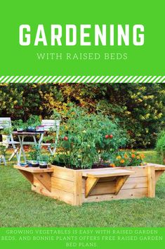 Overcome poor soil conditions with raised bed #gardening for a bountiful harvest.