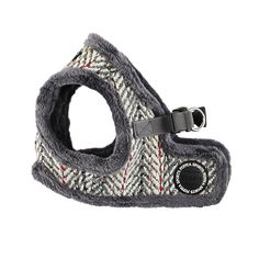 Puppia Authentic Harness B, Large, Grey >>> If you love this, read review now : Cat accessories