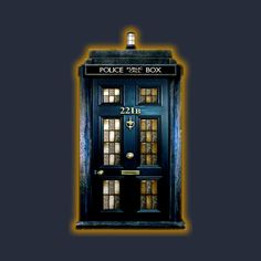 Blue Phone Box With 221b Number Cell Phone Covers Dr Who Doctor Who