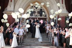Balloon Wedding Send Off