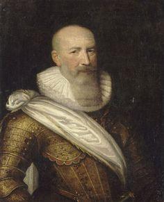 Portrait peint de Sully en buste, peinture par François Pourbus le Jeune, 1610, Musée national du chateau de Pau.