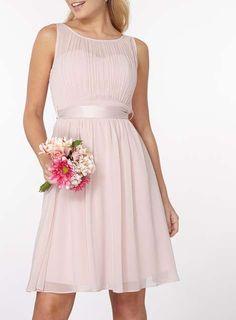 Showcase Blush Beth Prom Dress http://www.weddingheart.co.uk/dorothy-perkins---bridesmaids-dresses.html