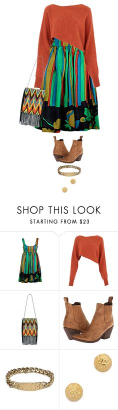 """Untitled #611"" by likealamb ❤ liked on Polyvore featuring Crea Concept, Deepa Gurnani, Old Gringo and Gorjana"