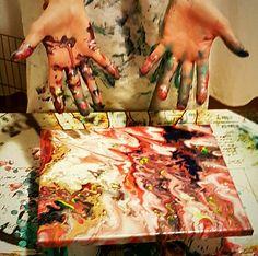 Limime Art   Fluid painting