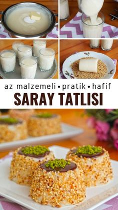 Palace Dessert (A Wonderland Dessert) (with video) - Yummy .- Saray Tatlısı (Harikalar Ötesi Bir Tatlı) (videolu) – Nefis Yemek Tarifleri Palace Dessert (A Wonderland Dessert) (with video) – Delicious Recipes - Pasta Cake, Junk Food, Pasta Recipes, Cooking Tips, Cookie Recipes, Noodles, Sweet Tooth, Yummy Food, Delicious Recipes
