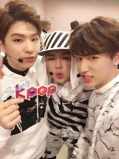 Kihyun, Jooheon and I.M