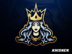 Tempest eSports by Khisnen Pauvaday Team Logo Design, Mascot Design, Logo E Sports, Beast Games, Cartoon Girl Drawing, Esports Logo, Game Logo, Vintage Design, Logo Sticker