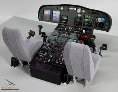 IFlyTailies Creates Intricate RC Airplane Cockpits & Parts Using Printing - Modern Aircraft Instruments, Helicopter Cockpit, Flight Simulator Cockpit, Aircraft Interiors, 3d Printing Business, Passenger Aircraft, 3d Home, Aircraft Design, Model Airplanes