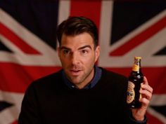 Zachary Quinto, Thespian and Traitor, Joins Newcastle's 'Independence Eve' Campaign