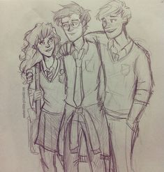 Golden trio skech!