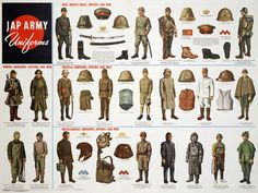 Japanese Army Uniforms WWII