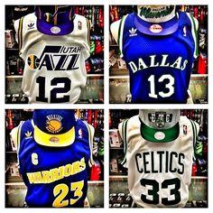 Throwback NBA Jerseys