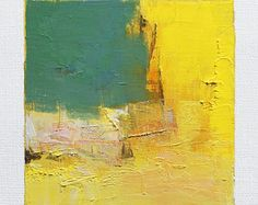 May 11 2015 Original Abstract Oil Painting 9x9 painting