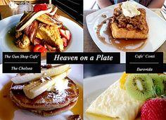 The gunshop, Cafe Conti,The Chelsea and Eurovida Brisbane
