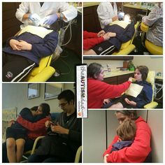 Here's how Elliott's dentist appointment went  He broke down a couple times but Lizze and I made sure he knew we were right there with him. While he was waiting to go back, he sat of Lizze's lap and snuggled his Mommy for comfort.  https://www.theautismdad.com/2016/10/04/heres-how-elliotts-dentist-appointment-went/  Please Like, Share and visit our Sponsors  #Autism #AutismSpectrum #AutismAwareness #AutismParenting #Family �