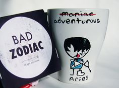 Mother's day gift, Funny Mugs / Aries Zodiac Mug / Rude / Cuppa Aries Zodiac, Zodiac Love, Zodiac Signs, Alphabet Signs, Funny Mugs, Mother Day Gifts, Etsy, Coffee, Decor