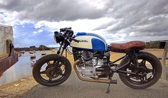 Matt Woodgates CX500 1