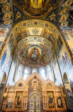 There's no shortage of elegance and splendor inside St. Petersburg's Church of the Savior on Spilled Blood.