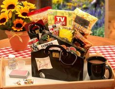 PRESCRIPTION TO GET WELL GIFT BOX, $55.00, Doctor's Orders! Let people know you care. #getwellgiftbaskets