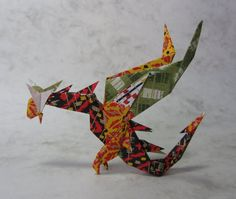 Origami Dragon by Nguyen by *Himmapaan on deviantART