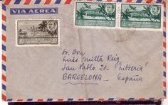 F3-12- Carta GUINEA ESPAÑOLA-BARCELONA - Foto 1