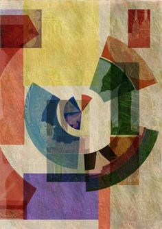"Saatchi Art Artist Jack Smith; Collage, ""London Geometrics SIX - Giclée - A1 Edition #1 of 6"" #art"