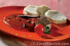 Czech Recipes, Ethnic Recipes, Thai Red Curry, Panna Cotta, Fine Dining, Cooking, Dulce De Leche
