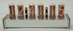 My very first nixie clock