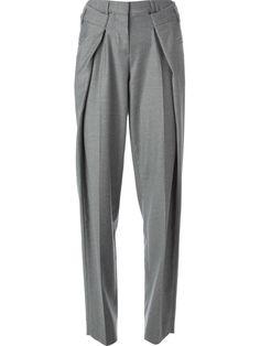 Maison Martin Margiela Pleated Wide Leg Trousers