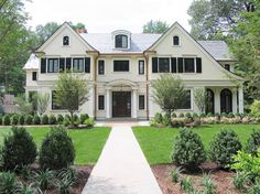 French Country New Residence - traditional - Exterior - New York - Rosen Group Architecture | Design