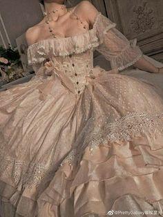 -cami March 03 2020 at fashion-inspo Pretty Dresses, Beautiful Dresses, Fairytale Dress, Princess Fairytale, Princess Aesthetic, Fantasy Dress, Fantasy Hair, Fantasy Makeup, Final Fantasy
