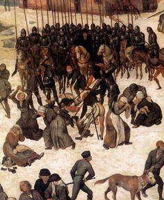 Brueghel, el Viejo - La matanza de los inocentes (detalle) 1556