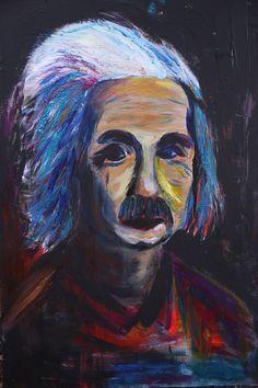 Albert Einstein #art #artwork #alberteinstein #Einstein