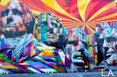 New York City, U.S.A Street Art by Eduardo Kobra