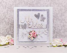 Dianka Kreativity: WEDDING CARD - Bílá klasika
