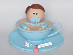 lembrancinha de chá de fraldas biscuit Baby Shower, Children, How To Make, Gifts, Biscuit, Image, Baby Shower Favours, Shower Prizes, Shower Baby
