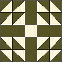Block of Day for April 20, 2014 - Five Patch Ring