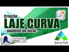 Revit 2015 | Criando Laje Curva (Modelar no local)