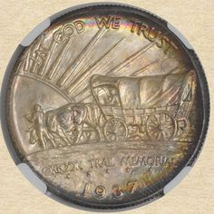 1937-D Oregon 50c Commemorative reverse
