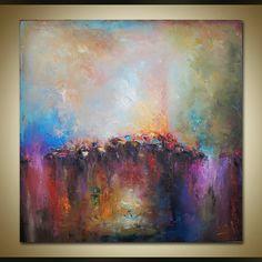 Large Abstract Art, Oil Painting, Original Art, Abstract Canvas Painting Bedroom Decor Canvas Wall Art, Abstract Canvas Art Contemporary Art Style: Modern & Abstract Reviews: https://www.etsy.com/shop/StanislavLazarovArt?ref=l2-shopheader-name#reviews Tittle: City impression