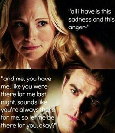 I love the Caroline and Stefan friendship! I really hope they just remain best friends.