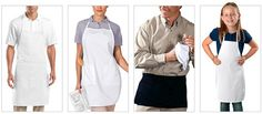 Custom aprons are the perfect gift around the holiday season! #aprons #customaprons